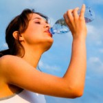 Alkaline ionized water for human body