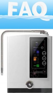 Water Ionizer FAQ